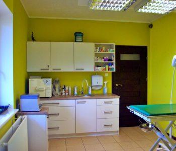 Wnętrze - Gabinet - Gabinet Weterynaryjny OSTOJA w Zawoni - Weterynarz Zawonia